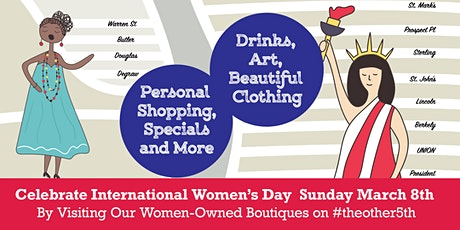 Boutique Crawl on #theother5th - Celebrate International Women's Day tickets