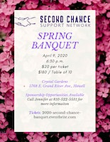 2020 Second Chance Spring Banquet