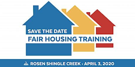 Fair Housing Month Training Day tickets