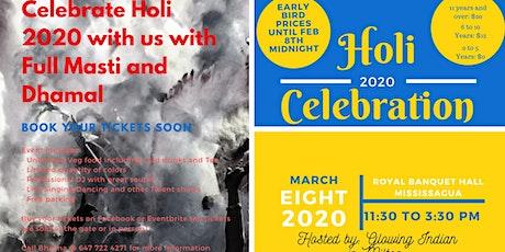 Holi 2020 Celebration tickets