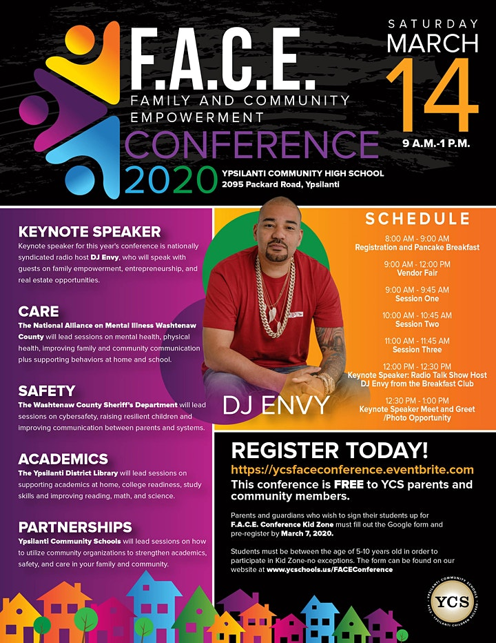 F.A.C.E. Conference (Family and Community Empowerment Conference) image