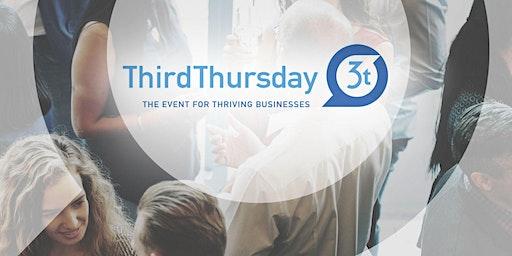Third Thursday - Great dinner, Conversation and Business Opportunities.