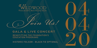Wildwood Performing Arts Foundation Inaugural Gala & Concert