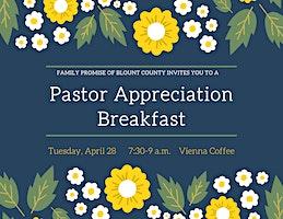 Pastor Appreciation Breakfast 2020
