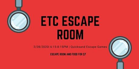 ETC Escape Room tickets