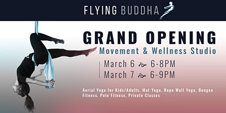 You're Invited to Flying Buddha's Grand Opening Celebrations tickets