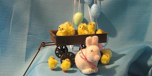 Needle Felted mini Easter Bunny Workshop