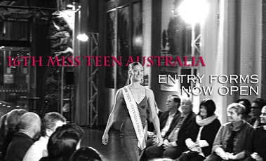 Miss Teen Australia, Adelaide Heat. Junior/Senior Entry Fee tickets