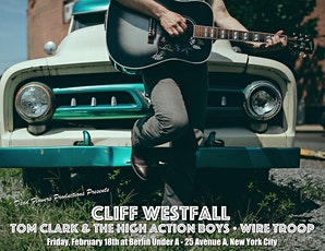 Cliff Westfall with Tom Clark & The High Action Boys and Wire Troop tickets
