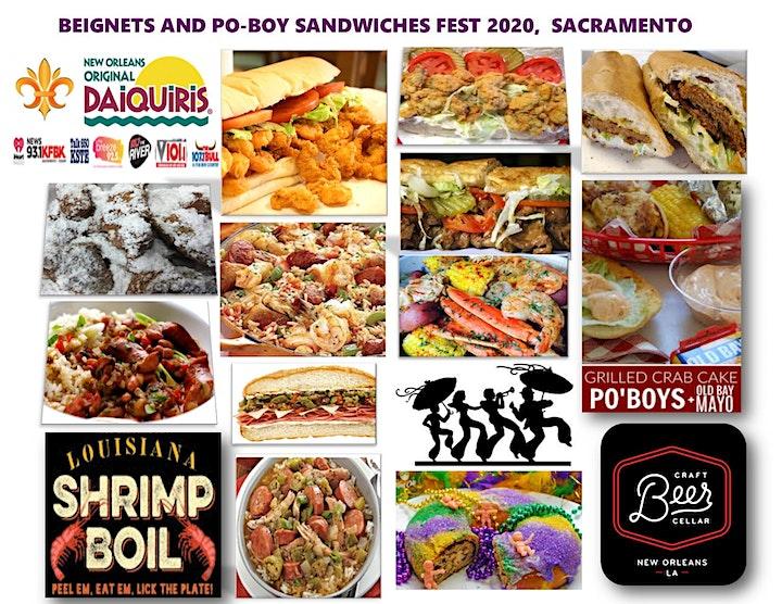 BEIGNETS and PO-BOY SANDWICHES FEST 2021 image