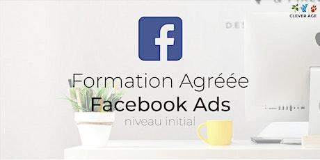 Formation agréée | Facebook Ads  - Niveau Initial - 1 journée billets