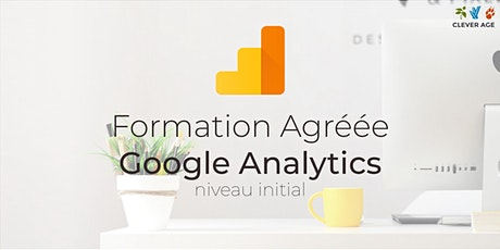 Formation agréée | Google Analytics - Niveau Initial - 1 journée billets