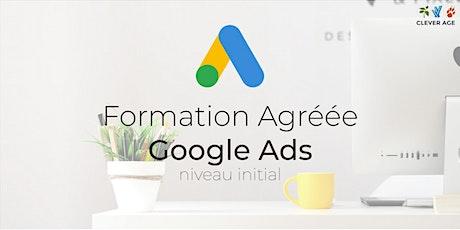 Formation agréée | Google Ads - Niveau Initial - 1 journée tickets