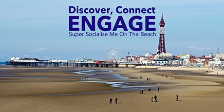 Super Socialise Me On The Beach - Blackpool tickets