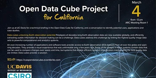 Open DataCube Technical Briefing & Discussion