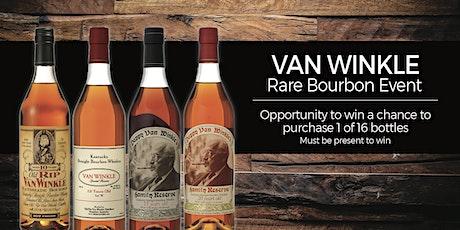 Pappy Van Winkle Rare Bourbon Event tickets