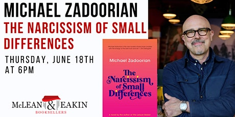 Author Event with Michael Zadoorian tickets