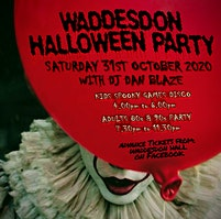 Waddesdon Halloween Party - Kids Spooky Games Disco