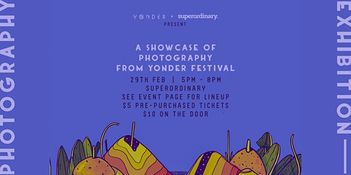 Yonder: Photography Exhibition