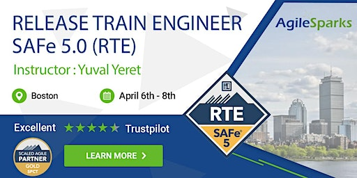 SAFe 5.0 Release Train Engineer with RTE Certification - Boston - April 2020