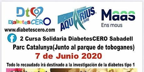 2 Cursa Solidaria DiabetesCERO Sabadell entradas