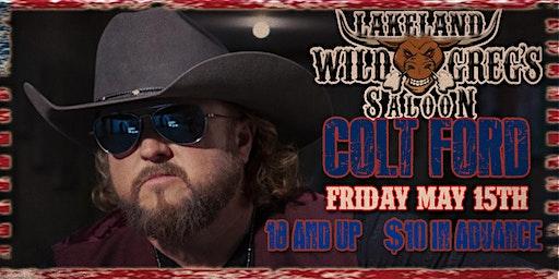 Colt Ford Live at Wild Greg's Saloon Lakeland