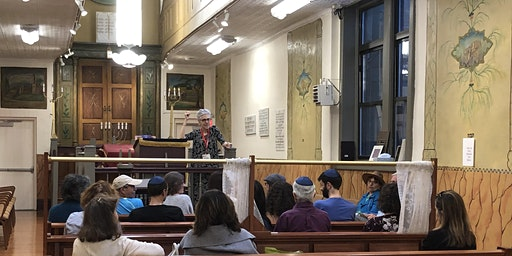An intimate evening tour of The Stanton Street Synagogue