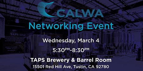 CALWA SoCal Networking Event 2020 tickets