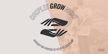 Couples Grow Night tickets