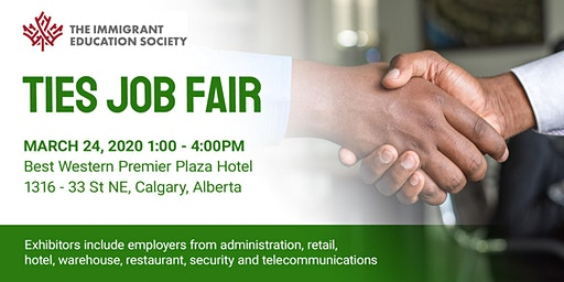 TIES  Job Fair March 24