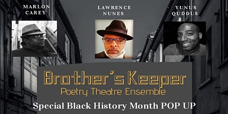 Brother's Keeper Pop Up Poetry Event tickets