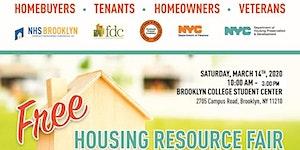 HOUSING RESOURCE FAIR: RSVP for seminars!