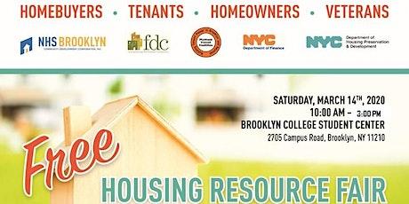 HOUSING RESOURCE FAIR: RSVP for seminars! tickets
