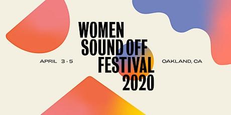 WOMEN SOUND OFF FESTIVAL 2020 - Weekend Pass tickets