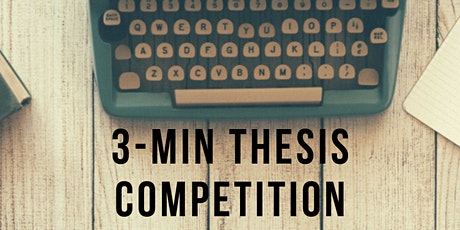 3-Minute Thesis Competition - Heat tickets