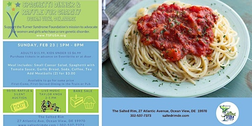 Turner Syndrome Spaghetti Dinner Fundraiser