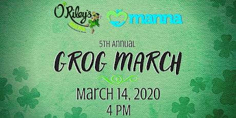 O'Riley's Irish Pub 5th Annual Grog March tickets