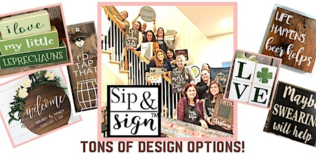 New Horizon Communications Private Sip and Sign Party tickets