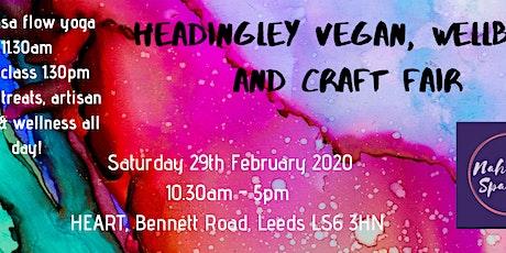 Headingley Wellbeing Vegan and Craft Fair tickets