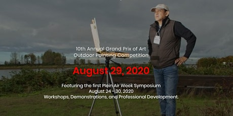 10th Annual Grand Prix of Art & Plein Air Week Symposium August 24-30, 2020 tickets