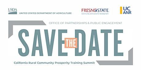 Rural Community Prosperity Training Summit tickets
