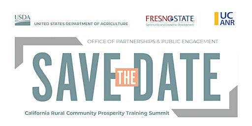 Rural Community Prosperity Training Summit