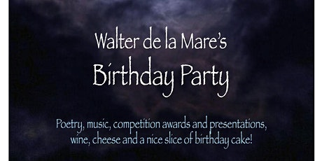 Walter de la Mare's Birthday Party entradas
