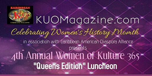 "4th Annual Women of Kulture 365 ""Queens Edition"" Empowerment Luncheon"
