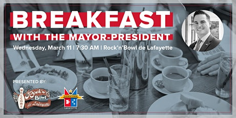 Breakfast with the Mayor-President tickets