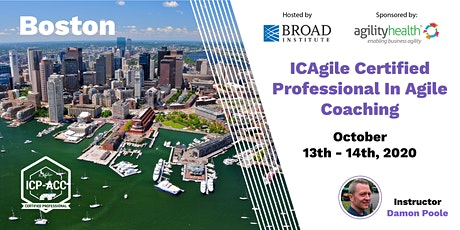 Agile Coach Workshop with ICP-ACC Certification Boston Oct 13-14 tickets
