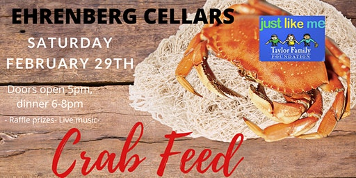 CRAB FEED FUNDRAISER @ EHRENBERG CELLARS!