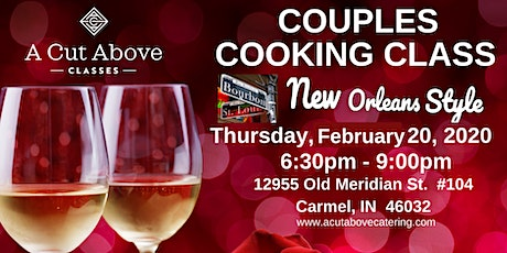 ROMANTIC COUPLE'S COOKING CLASS - New Orleans Style tickets