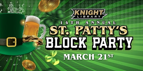 Knight Library's 14th Annual St. Patty's Block Party!! tickets