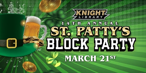 Knight Library's 14th Annual St. Patty's Block Party!!
